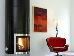 Gabriel Kakelugn Studio Svart