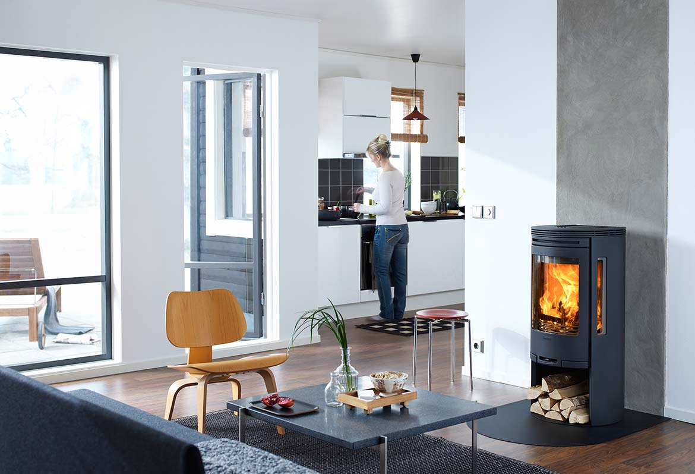 kamin contura c 550 mur kaminkultur. Black Bedroom Furniture Sets. Home Design Ideas