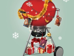 Grilla din skinka till jul!