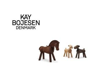 Nyheter från Kay Bojesen – Häst i valnöt & hunden Tim